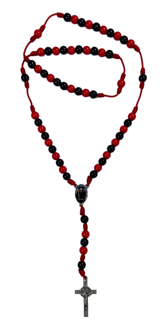 Saint Simon Spiritual Rosary Necklace For Protection