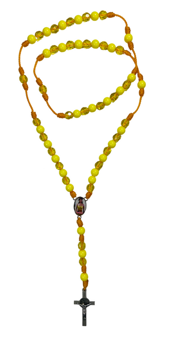 Orisha Oshun Goddess of Love & Fertility Spiritual Rosary Necklace To Attract Love Passion & Romance