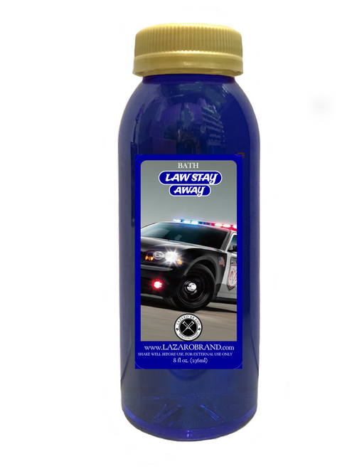 Law Stay Away Spiritual Bath Liquid For Victory In Legal Issues, Police Problems, Court Cases, Restraining Orders, ETC. (8oz)