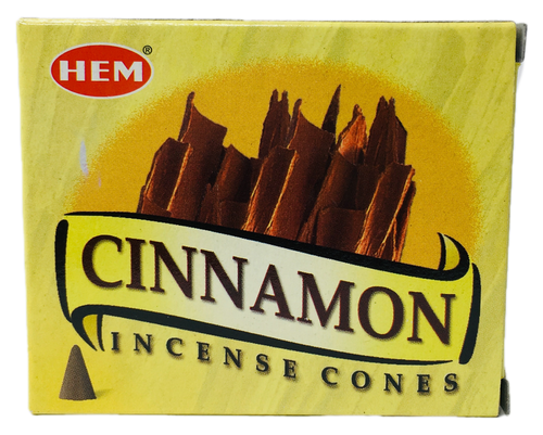 Cinnamon Canela Incense Cones For Abundance & Passion