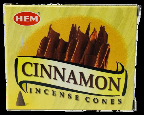 Cinnamon Canela Incense Cones For Abundance & Passion