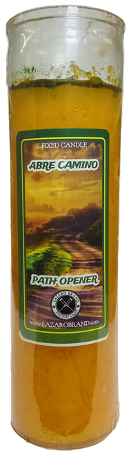 Abre Camino Road Opener Dressed & Blessed 7 Day Prayer Candle To Open Your Pathway To Success & Clear Away Obstacles