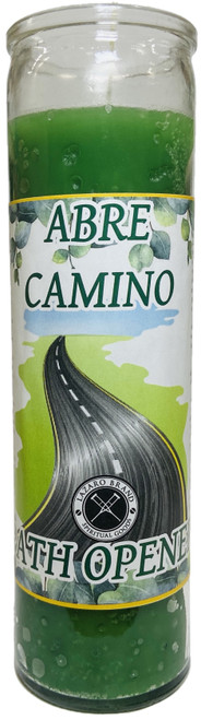 Abre Camino Path Opener 7 Day Prayer Candle To Open Your Pathway To Success & Clear Away Obstacles (Green)