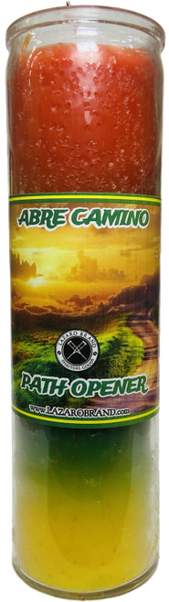 Abre Camino Road Opener 7 Day Prayer Candle To Open Your Pathway To Success & Clear Away Obstacles (3 Colors)