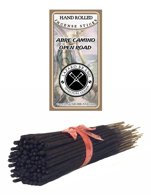 Abre Camino Open Road Incense Sticks To Open Your Pathway To Success & Clear Away Obstacles (100 Pack)
