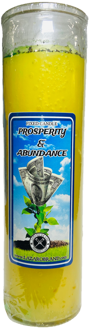 Prosperity & Abundance Dressed & Blessed 7 Day Prayer Candle For Success