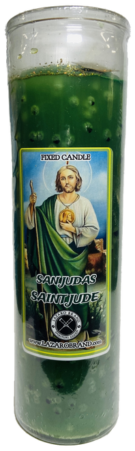 Saint Jude San Judas Tadeo Patron Saint Of Healing Dressed & Blessed 7 Day Prayer Candle For Wellness, Hope & Emotional Peace