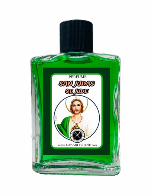 Saint Jude San Judas Tadeo Patron Saint Of Healing Spiritual Perfume For Wellness, Hope & Emotional Peace (1oz)