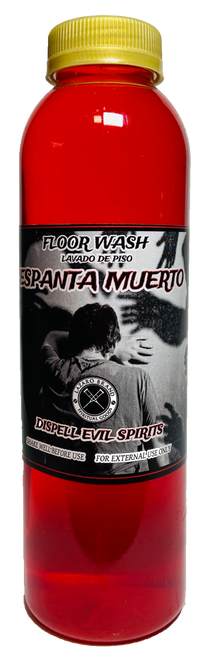 Dispell Evil Spirits Espanta Muerto Floor Wash To Chase Out Evil Spirits, End Curses & Get Rid Of Unwanted Influences (16oz)