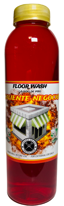 Hot Business Caliente Negocio Floor Wash To Grow Your Business & Attract Customers (16oz)
