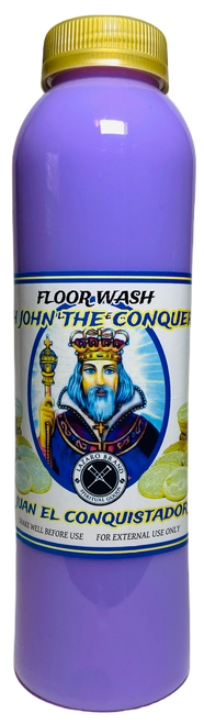 High John The Conqueror San Juan Conquistador Floor Wash For Justice In Court Case, Victory Over Struggle, Gain Confidence, ETC. (16oz)