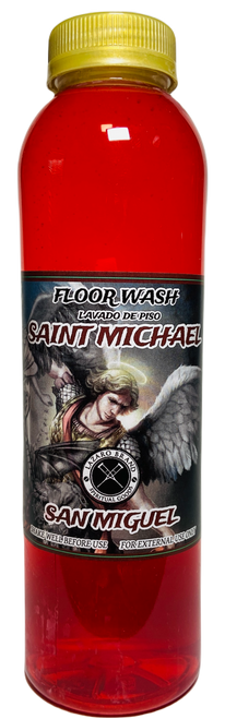 Archangel Saint Michael San Miguel Floor Wash To Fight Against All Evils & Protect Your Soul (16oz)