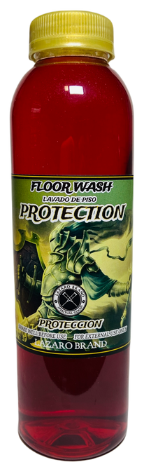 Protection Floor Wash To Prevent Suffering, Harm & Injury (16oz)