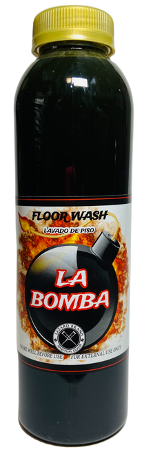 The Bomb La Bomba Floor Wash To Chase Out Evil Spirits, End Curses & Get Rid Of Unwanted Influences (16oz)