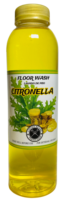Citronella Floor Wash To Clear The Mind & Clarify Communication (16oz)