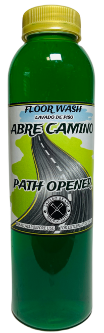 Abre Camino Path Opener Floor Wash To Open Your Pathway To Success & Clear Away Obstacles (16oz)