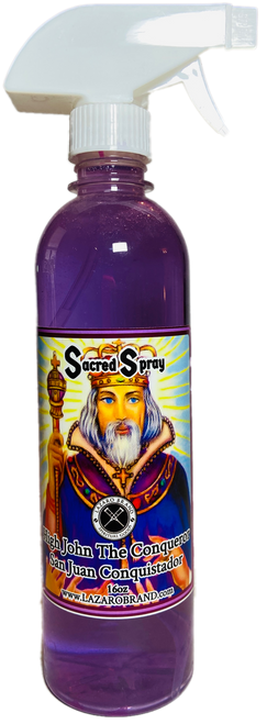 High John The Conqueror San Juan Conquistador Sacred Spray For Justice In Court Case, Victory Over Struggle, Gain Confidence, ETC. (16oz)