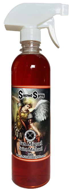 Archangel Saint Michael San Miguel Sacred Spray To Fight Against All Evils & Protect Your Soul (16oz)