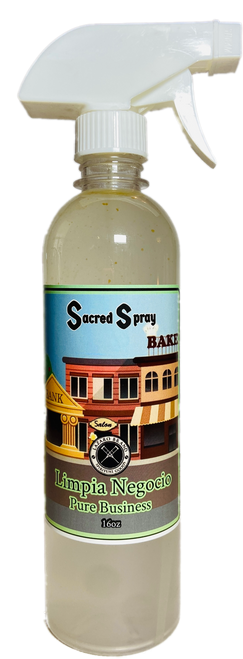 Pure Business Limpia Negocio Sacred Spray To Grow Your Business & Attract Customers (16oz)