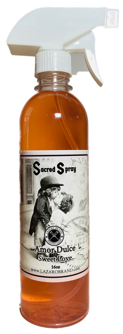 Sweet Love Amor Dulce Sacred Spray For Romance, Love, Attraction, Soulmates, ETC. (16oz)