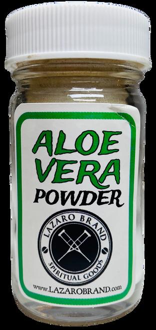 Aloe Vera Prayer Powder Herbs Upliftment, Protection & Good Luck (1.25oz)