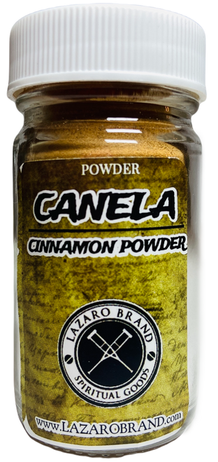 Cinnamon Canela Prayer Powder Herbs For Protection Prosperity & Passion (1.25oz)