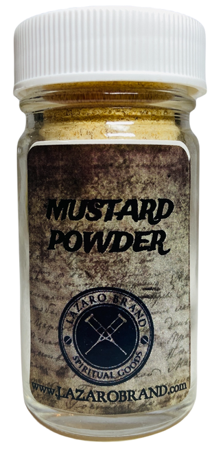 Mustard Prayer Powder Herbs For Creativity & Optimism (1.25oz)