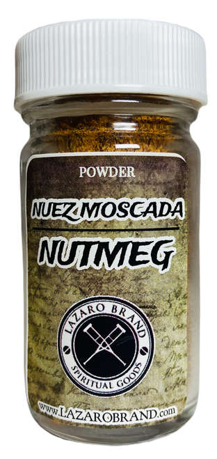 Nutmeg Nuez Moscado Prayer Powder Herbs For Justice, Money Drawing & Repel Unwanted People (1.25oz)
