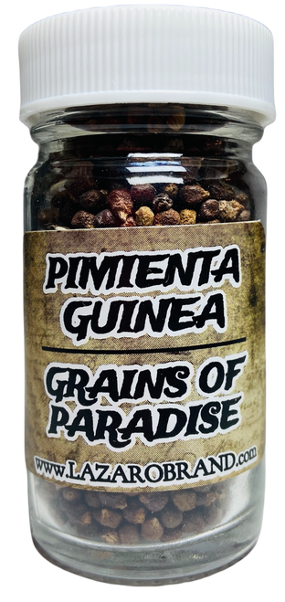 Pimienta Guinea Grains Of Paradise Prayer Powder Herbs Good Luck, House Protection, Employment & Wishes (1.25oz)