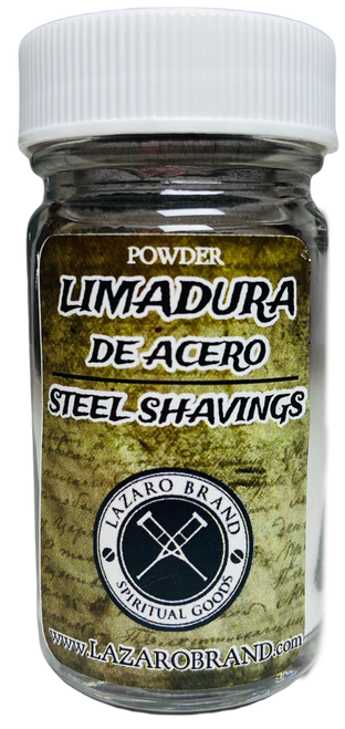 Steel Shavings Limadura Prayer Powder Herbs To Feed Lodestones, Good Luck & Attract Money (1.25oz)