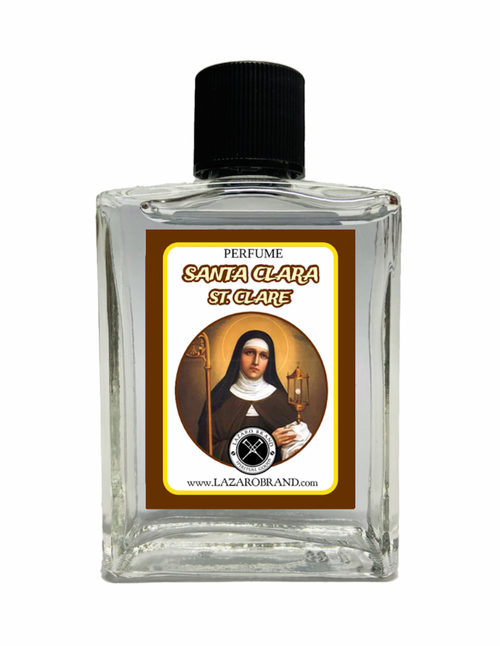 Saint Claire Santa Clara Spiritual Perfume For For Aid In Making Decisions & Clearing Out Mental Stress 1oz