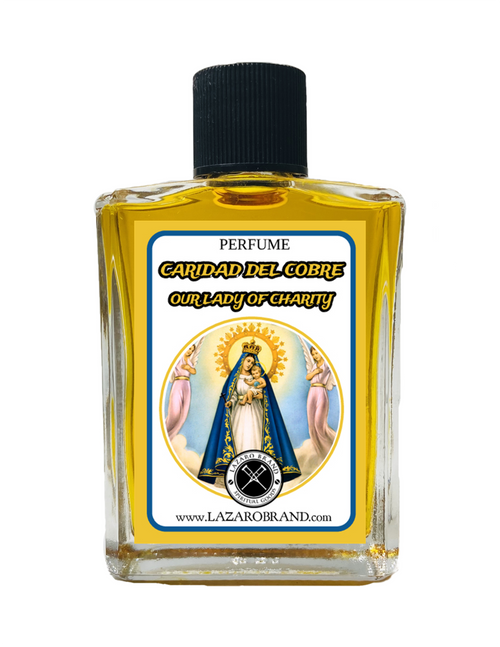Our Lady Of Charity Caridad Del Cobre Spiritual Perfume For Fertility, Peace At Home & Family Bonding (1oz)