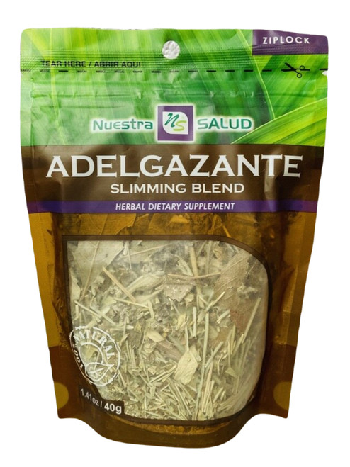 Slimming Blend Adelgazante Nuestro Salud Herbal Dietary Supplement (Boil The Herbs Drink As Tea)