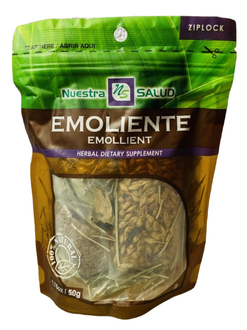 Emollient Emoliente Nuestro Salud Herbal Dietary Supplement (Boil The Herbs Drink As Tea)