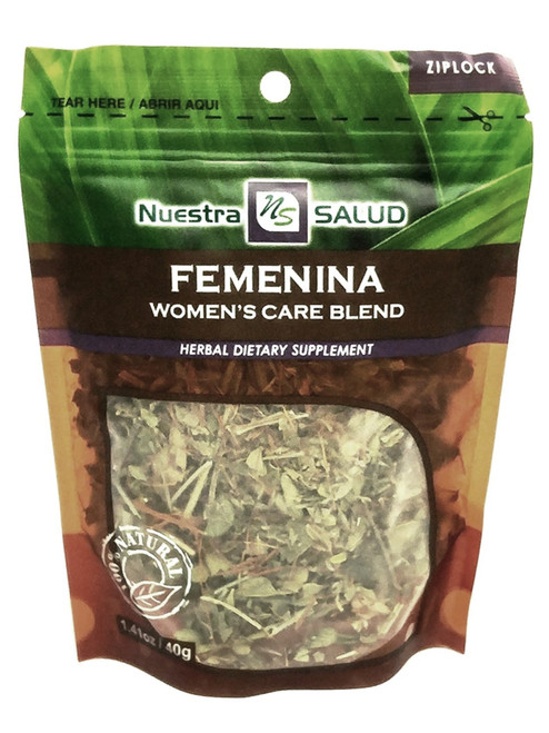 Woman's Care Blend Femenina Nuestro Salud Herbal Dietary Supplement (Boil The Herbs Drink As Tea)