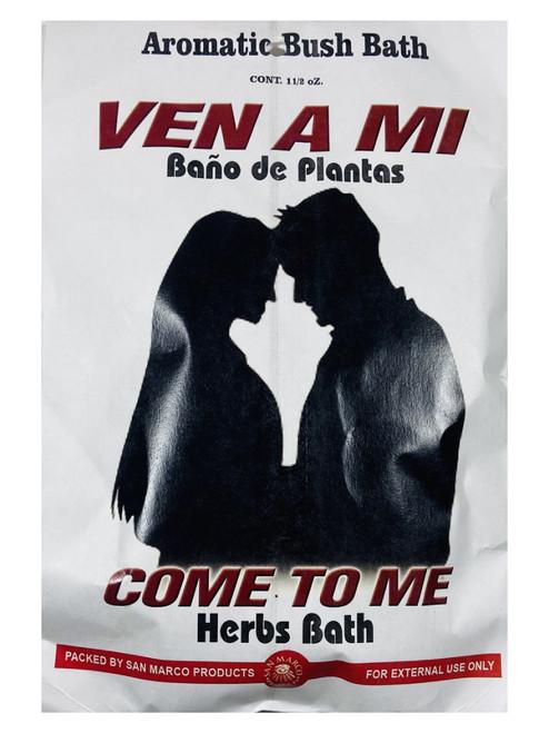 Come To Me Ven A Mi Aromatic Bush Bath For Romance, Love, Attraction, Soulmates, ETC. (Boil Herbs In Water To Prepare)