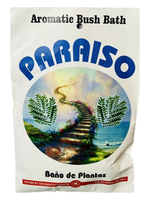 Paradise Paradiso Aromatic Bush Bath For Romance, Love, Attraction, Soulmates, ETC.(Boil Herbs In Water To Prepare)