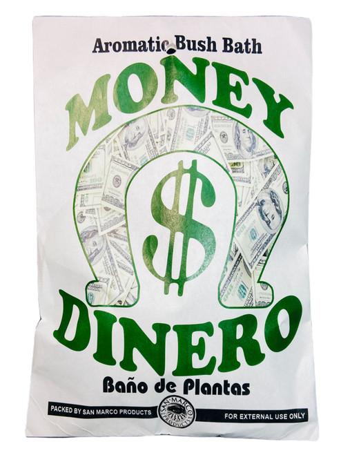 Money $ Dinero Herb Bath Aromatic Bush Bath For Wealth, Prosperity, Abundance & Financial Success (Boil Herbs In Water To Prepare)
