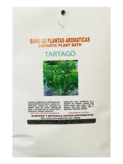 Tartago Aromatic Plant (Boil Herbs In Water To Prepare)