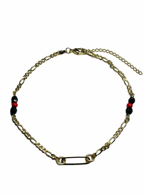 Orisha Eleggua Guardian Of The Crossroads & Destiny Ankle Bracelet For Protection & Spiritual Guidance