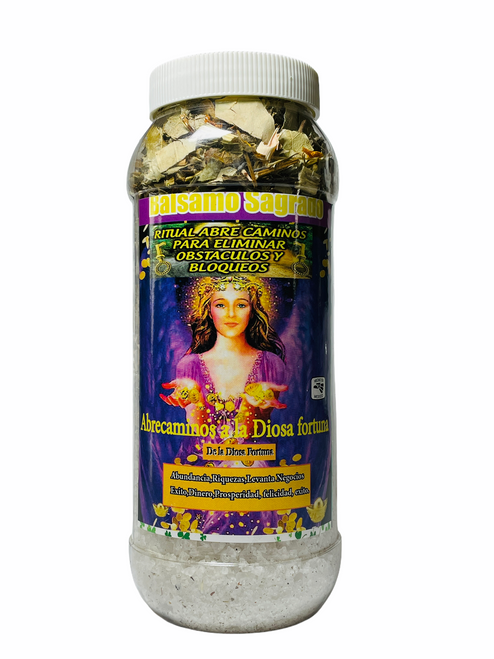 Goddess Fortuna Path Opener Aromatherapy Sacred Herb Bath To Eliminate Obstacles & Attract Abundance