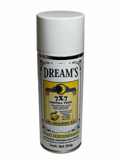 7x7 Against All Contra Todo Aerosol Spray To Overcome Difficult Obstacles & Attract Your Desires