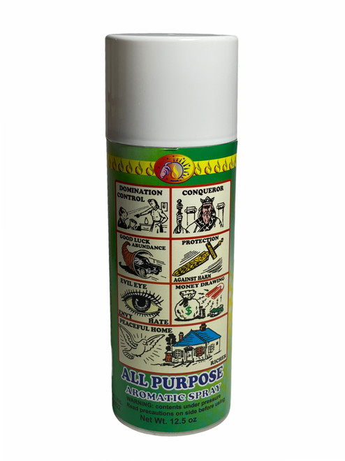 All Purpose Para Todo Aerosol Spray For Protection, Money Drawing, Good Luck, Control, ETC.