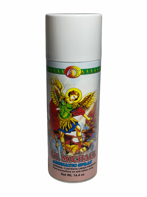 Archangel Saint Michael San Miguel Aerosol Spray To Fight Against All Evils & Protect Your Soul