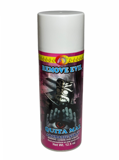 Remove Evil Quita Mal Aerosol Spray To Chase Out Evil Spirits, End Curses & Get Rid Of Unwanted Influences