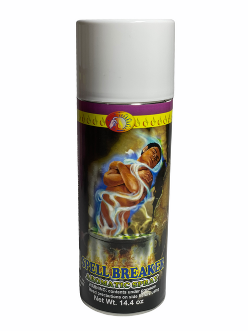 Spell Breaker Rompe Conjuros Aerosol Spray To Chase Out Evil Spirits, End Curses & Get Rid Of Unwanted Influences