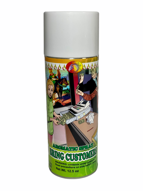 Bring Customers Llama Clientes Aerosol Spray To Grow Your Business & Attract Customers