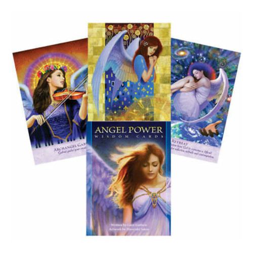 Angel Power Wisdom Cards By Gayle Guthrie
