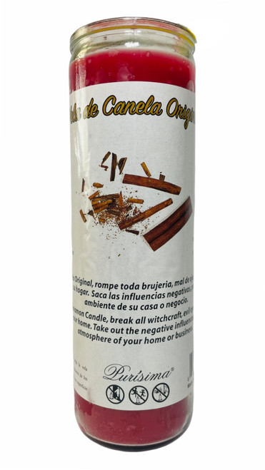 Cinnamon 7 Day Prayer Candle For Protection Prosperity & Passion