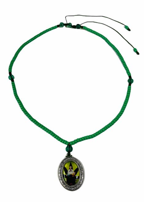 Jesus Malverde Angel Of The Poor Folklore Hero Image Necklace For Protection, Guidance & Wisdom